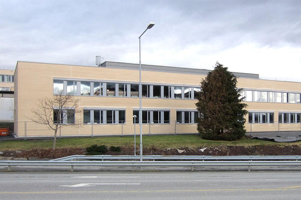 Fasade Ålesund Høgskole